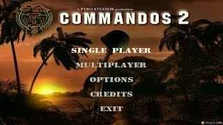 Commandos 2: Men of Courage gameplay (PC Game, 2001)