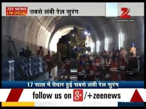 World's largest Railway tunnel in Switzerland