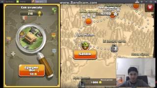 Clash OF Clans | Barbar ve Okçu İle Yapılan Saldırılar #1