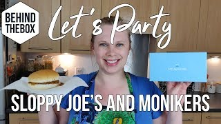 Let's Party with Lindsey Ep.1 - Sloppy Joes and Monikers