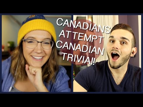 CANADIANS TRY CANADIAN TRIVIA!! (Ft. Michael Rizzi)