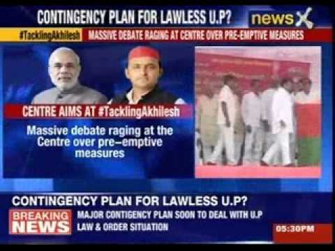 Big contingency plan soon to deal with U.P law and order crisis