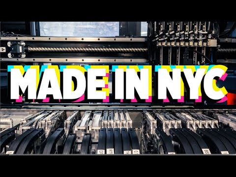 Made in NYC 12/11/2019 Featuring #Adafruit #PyPortalPynt and #CircuitPlaygroundBluefruit @Adafruit