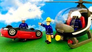 Strażak Sam ♦ Wypadek przez szybką jazde ♦ Bajka dla dzieci PO POLSKU