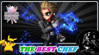 [FFBE] FFXV: IGNIS, World Best  Chef! 🐷 Summon!