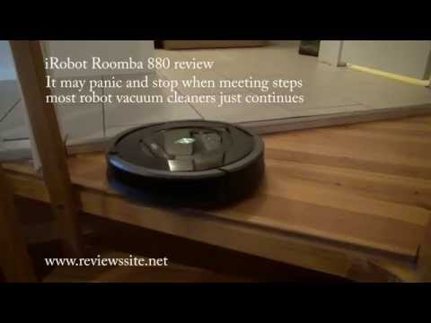 Review of the iRobot Roomba 880