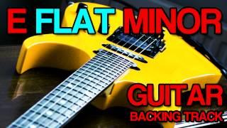 E Flat Minor Eb Guitar Backing Track [ Hard Rock / Metal ]