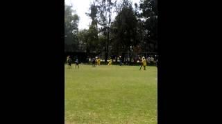 Gol de Roger. Campeonato Copa Oceania 2015