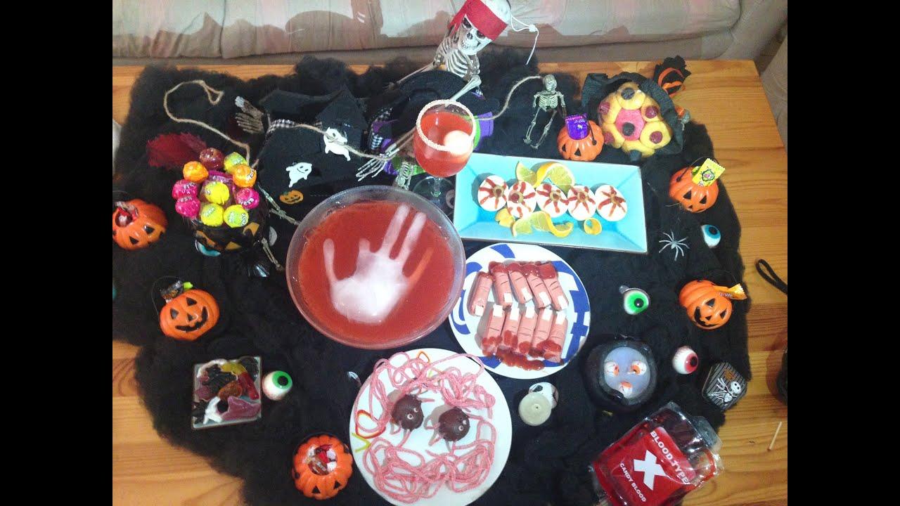 Receta Especial Halloween Aperitivos Para Una Fiesta
