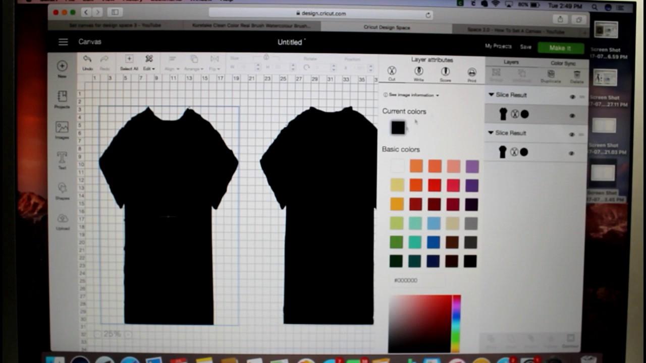 Update Set Canvas Cricut Design Space 3 Youtube