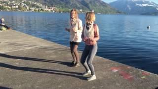 Russian girls go wild in Switzerland