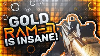 FIRST LOOK AT *NEW* GOLD RAM-7 DLC ASSAULT RIFLE In MODERN WARFARE!