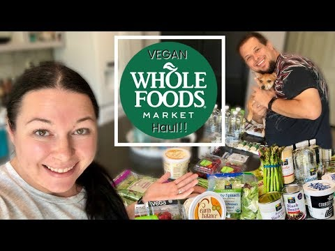 WHOLE FOODS HAUL! | Vegan & Prices Shown! | July 2018