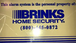 Overview of a brinks home security system