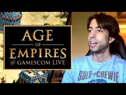 AGE OF EMPIRES: DEFINITIVE EDITION y AGE OF EMPIRES IV - COMENTANDO la GAMESCOM