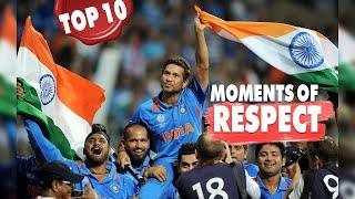 10 Beautiful Moments of Respect in Cricket   Simbly Chumma