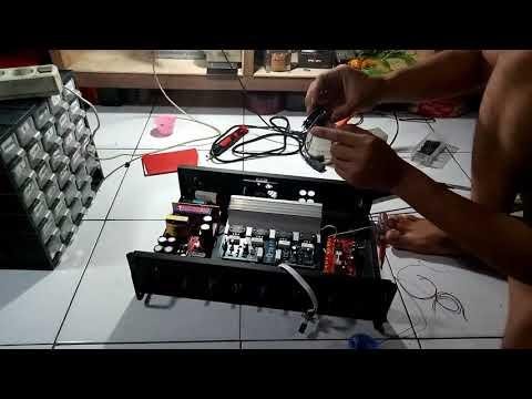 tutorial cara merakit power amplifier 400 watt stereo (200 watt x 2) PART 4