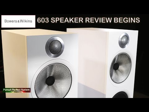 Bowers and Wilkins NEW 603 Speaker REVIEW begins with Leema Acoustics Elements Integrated Amplifier