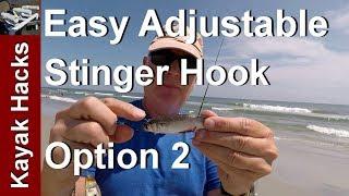 Live Bait Adjustable Stinger Hook for Different Lengths of Live Bait - Option 2