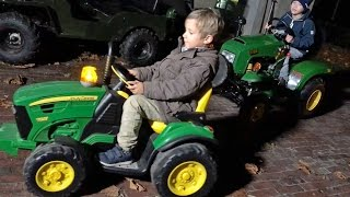 TRACTOR for Children 1st TEST DRIVE gasoline JOHN DEERE by JACK (5)