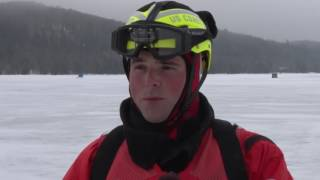 Coast Guard teaches ice rescue techniques