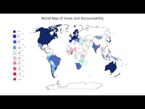 Module 4: 3.1. Visualization  World Map of Democracy