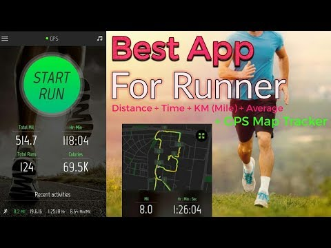 Running Dastance Tracking + KM + Time + Map + GPS    BEST APP FOR RUNNERS    Must Use Of The App