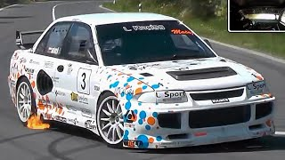 BRUTAL Lancer Evo III || 550+Hp ONBOARD On The Limit !!!