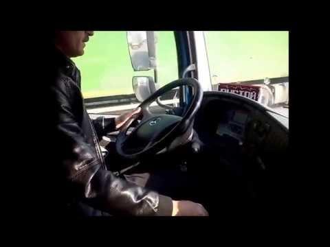 Тестовое видео. Mercedes Atego 1218L