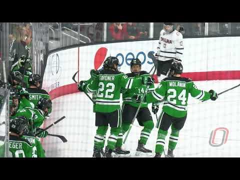 HIGHLIGHTS: Hockey vs. North Dakota, Game 2