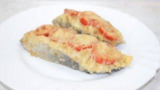 Так горбушу вы ещё не готовили! Горбуша маринованная в кефире и соевом соусе, выпекается в духовке.