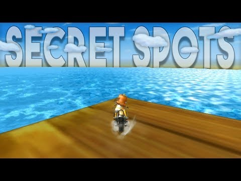 Mario Kart Wii - Top 5 Secret Areas (out of bounds?!)