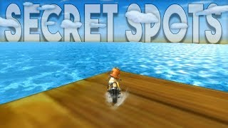 Mario Kart Wii Top 5 Secret Areas Out Of Bounds