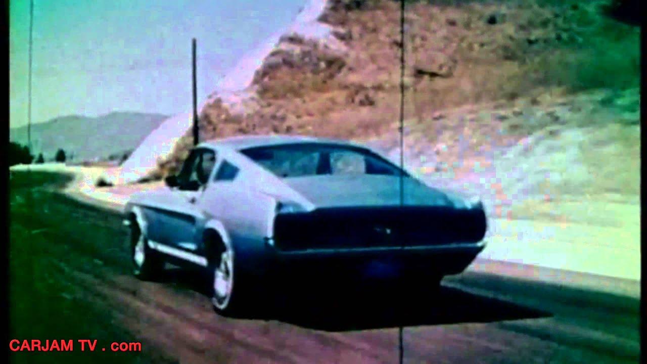 1967 Ford Mustang GT Fastback Facelift Original Commercial Classic Car  Carjam TV HD 2014