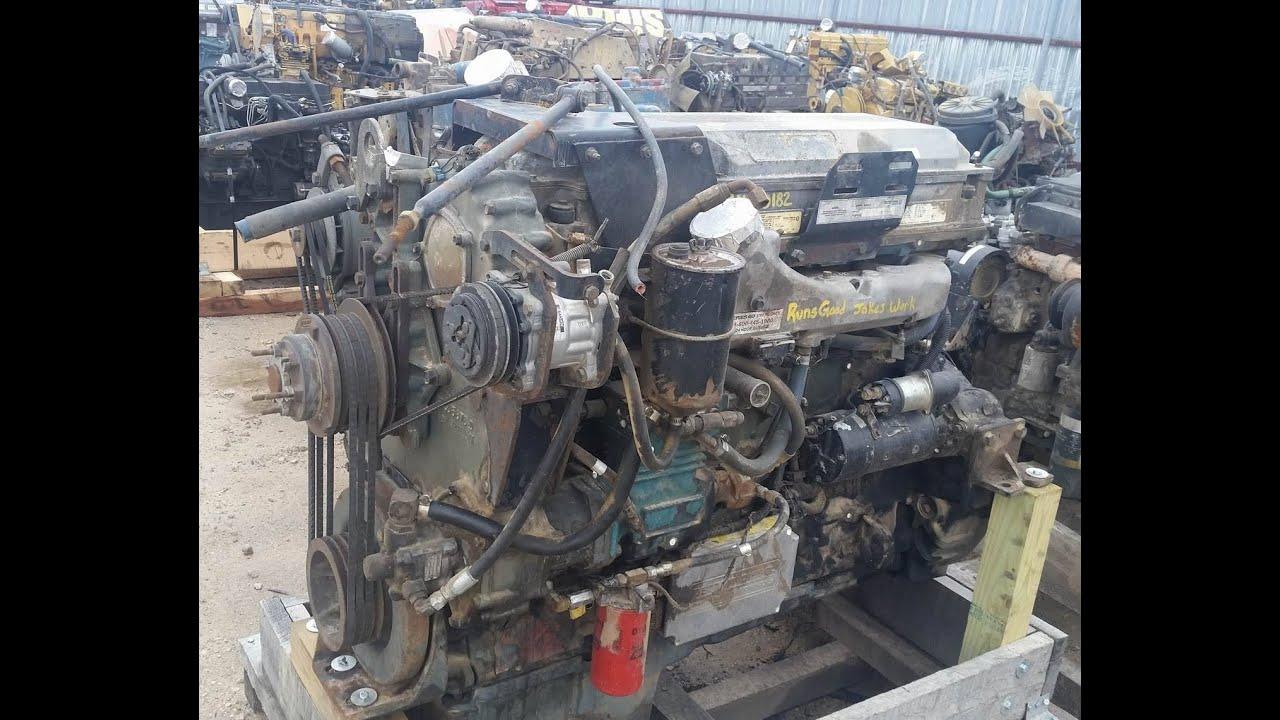 1994 Detroit 60 Series 12 7l 430 Hp Engine Youtube