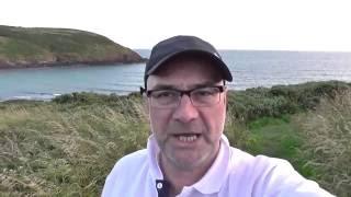Pembrokeshire Coast Pt 1: Camping at Manorbier Bay