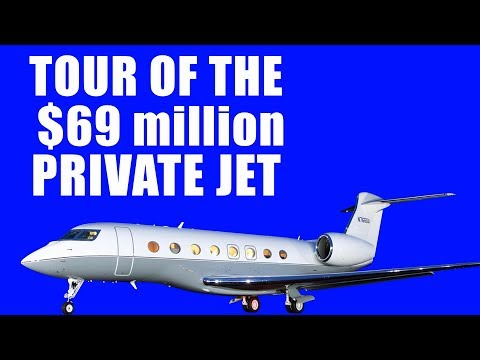 Tour of the $68.6M Gulfstream GS650ER jet | Business Jet  | HD