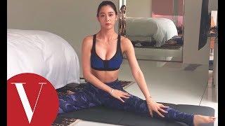 韓女星克拉拉CLARA示範 10個小運動鍛鍊身體曲線|Vogue Taiwan
