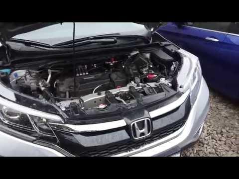 ГБО на автомобиль Хонда CR-V Earthdreams в комплектации BRC
