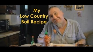 My Low Country Boil Recipe Shrimp Sausage Corn Potatoes Frogmore