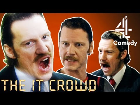 The IT Crowd | Chris Morris' Best Moments as Denholm Reynholm!