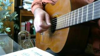 Love Is All Around - for solo guitar