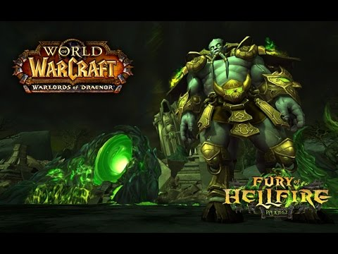 WoW Warlords of Draenor - Sons of War vs Archimonde Heroic (Tank PoV)