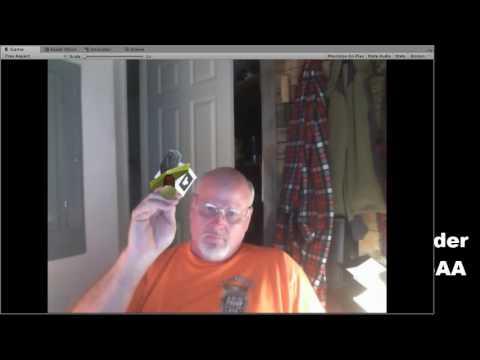 AR Sword Controller Unity and ARToolKit