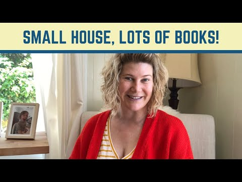Small House, Lots Of Books!
