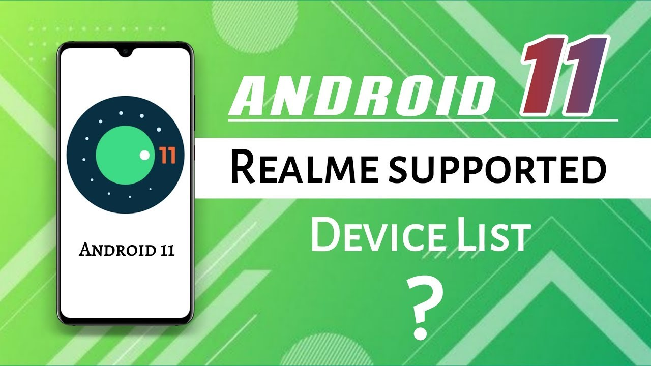 Realme Ui Android 11 update confirmed | List of Realme ...