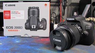 Canon EOS 2000D ita