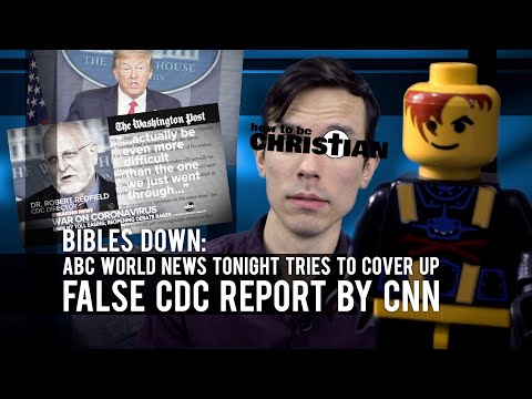 ABC World News Tonight tries to COVER UP false CDC report by CNN