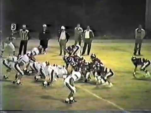 1987 Barnesville Academy Warriors at George Walton Academy Bulldogs football
