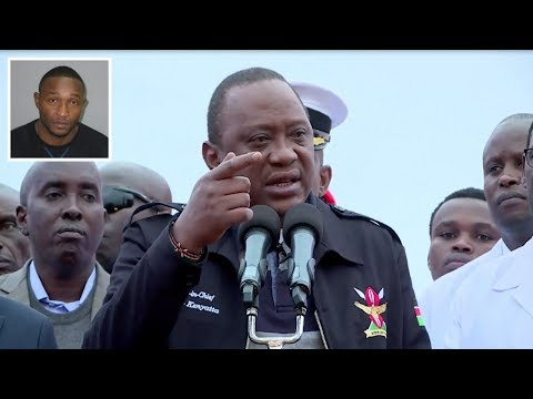PRESIDENT UHURU KENYATTA WARNING ON CONTRABAND GOODS
